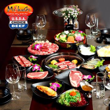 Tiệc Buffet nướng Nhật, Hàn - Mishagi