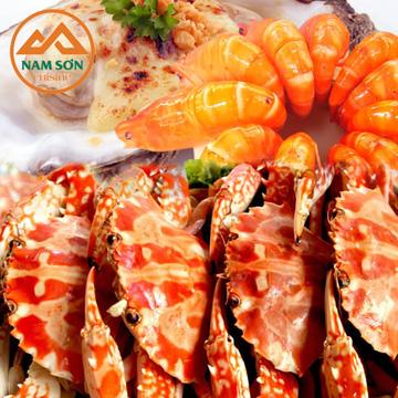 Buffet hải sản cao cấp tại Nhà Hàng Nam Sơn