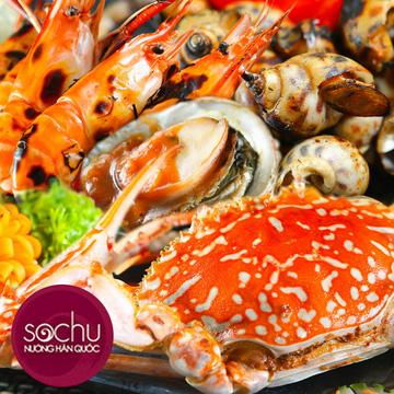 Buffet lẩu và nướng Hải Sản cao cấp Sochu Hàn Quốc