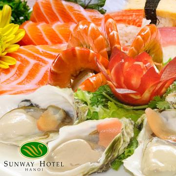 Buffet Tối Đẳng Cấp Tại Nhà Hàng Allante - khách sạn Sunway