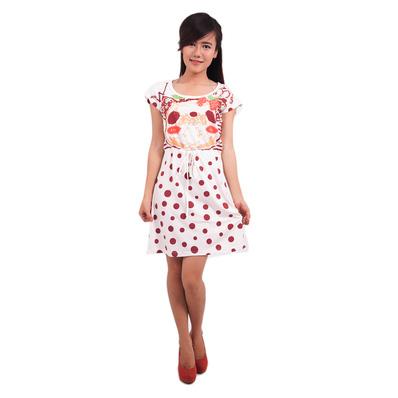 Đầm chấm bi cho nữ