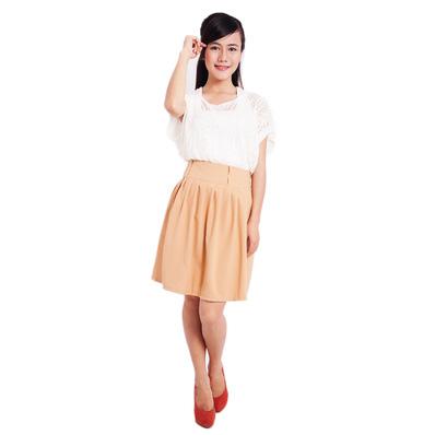 Chân váy xòe nhiều màu xinh xắn