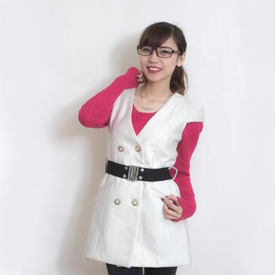 Váy dạ 2 lớp thắt đai