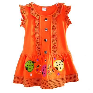 Đầm mặc nhà bé gái từ 2 -3 tuổi