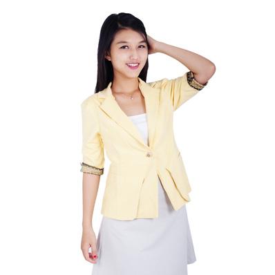Áo vest nữ phối tay chấm bi