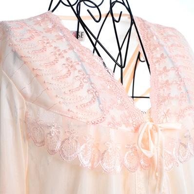 Đầm ngủ gợi cảm kèm áo khoác