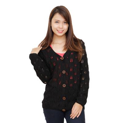 Áo len cardigan nữ tính