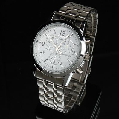Đồng hồ nam mặt tròn thời trang