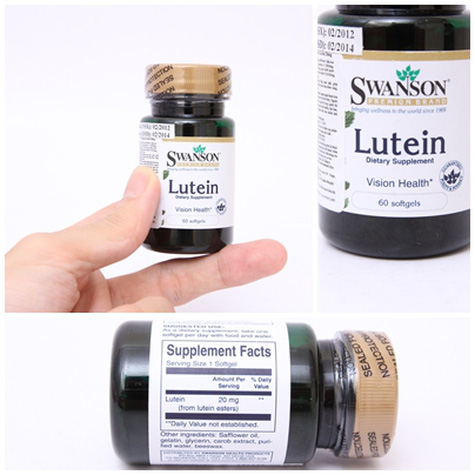 Thc phm chc nng Swanson Lutein - Ch 263.000