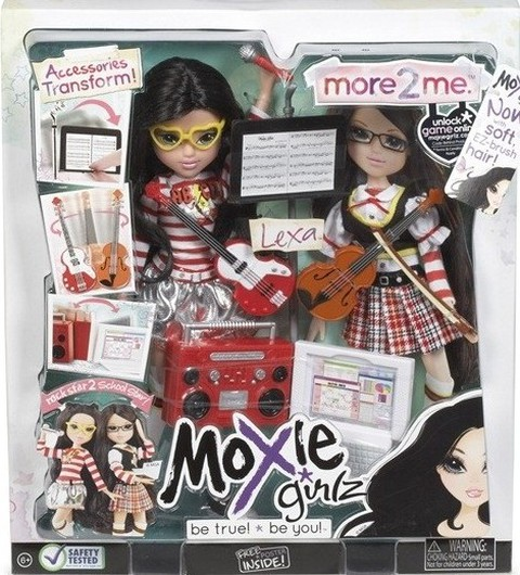Bộ Búp bê thời trang tuyệt đẹp MOXIE GIRLZ: More 2 Me hoặc Me & My Sister của Mỹ. Chỉ 399.000đ