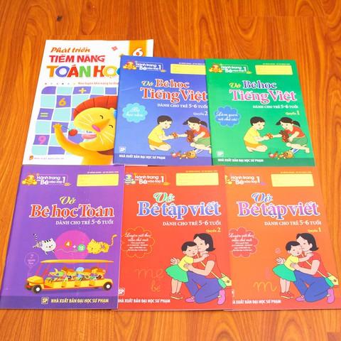 Tủ sách Hành trang cho bé vào lớp Một + Phát triển tiềm năng toán học. Chỉ với 72.000đ