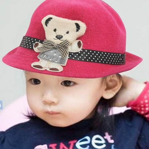 Đáng yêu với nón gấu kiểu cực kỳ dễ thương cho bé - Chỉ 80.000đ