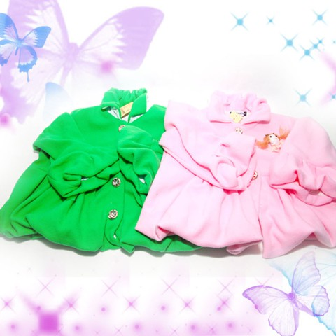 Áo khoác đính nơ xinh xắn cho bé gái - Chỉ 85.000đ/ 01 chiếc
