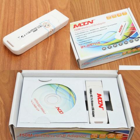 USB thu phát tín hiệu WIFI MY - WN711N - Kết nối và chia sẻ Internet tốc độ cao - Chỉ 140.000đ/sản phẩm
