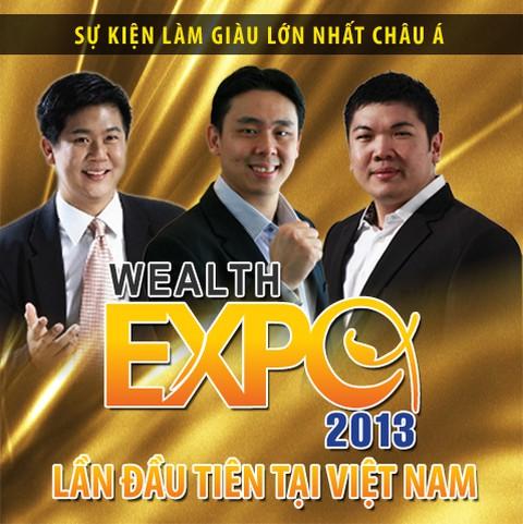 Hội thảo làm giàu Wealth Expo 2013