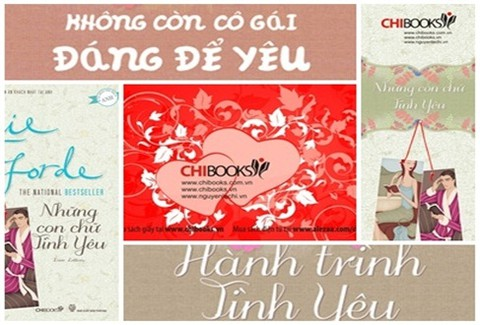 Valentine lãng mạn với bộ 03 tiểu thuyết tình yêu: HÃY CỨ YÊU NHƯ LÀ.....từ Nhà sách Chibooks - Chỉ với 148.000đ