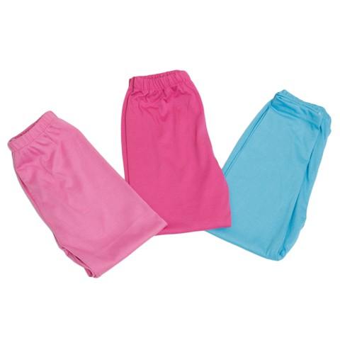 Combo 3 quần legging cotton cho bé gái (size 1,2,3)