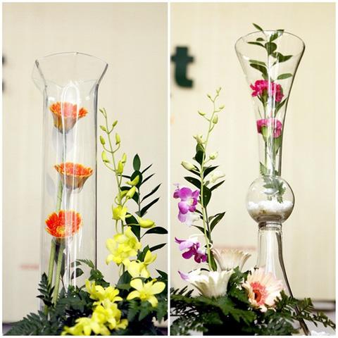 Bình hoa thủy tinh - Vừa cắm hoa, vừa trang trí cho căn phòng thêm đẹp - Chỉ với 143.000đ/01 chiếc