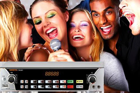 Đầu Karaoke NOSTA TKR-340V - Chỉ 300.000đ được voucher trị giá tới 5.400.000đ