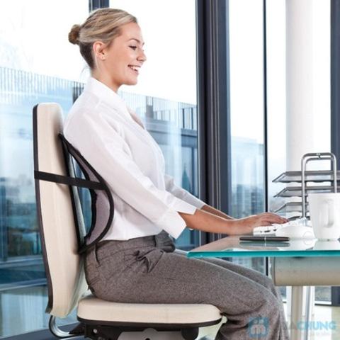 Tấm lưới tựa lưng ghế, bảo vệ tối đa cột sống của bạn - Chỉ với 50.000đ