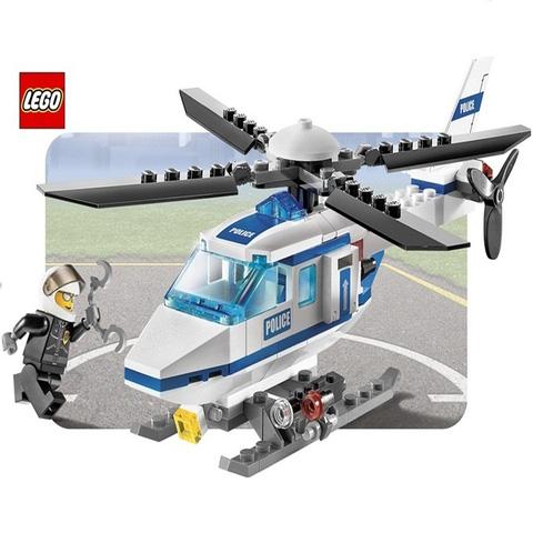LEGO 7741 - Trực thăng cảnh sát - Giúp bé học được thật nhiều bài học bổ ích. Chỉ 229.000đ/hộp