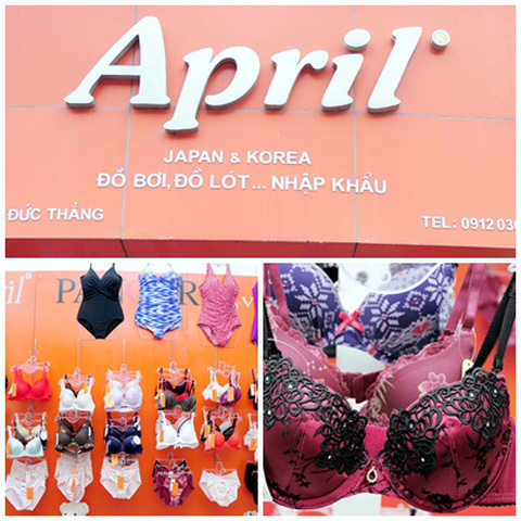 Voucher mua sắm nội y tại April Shop - Quyến rũ và gợi cảm