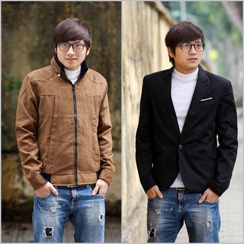Voucher mua áo khoác, áo vest nam cá tính
