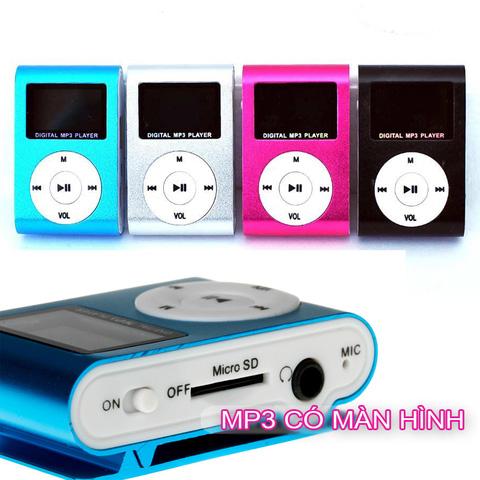 Máy MP3 có màn hình - Chỉ 119.000đ/Bộ