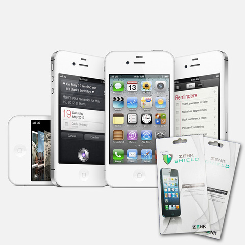 Combo 2 Miếng dán màn hình iPhone 4/4S/5