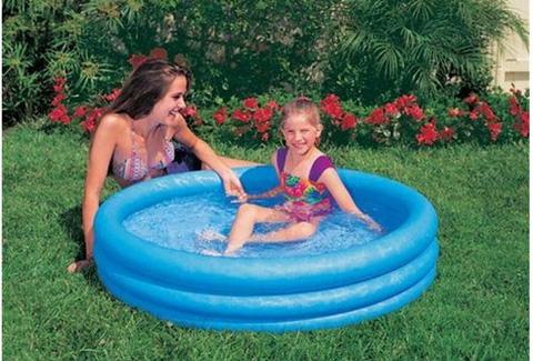 Bể bơi bơm hơi Intex xanh thủy tinh(1,14x25)