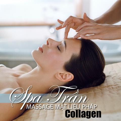 Chăm sóc da mặt Collagen trong tại Spa Trần