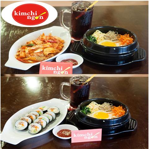 Lựa chọn 01 trong 02 set menu dành cho 01 người tại Quán Kim Chi Ngon - Chỉ 73.000đ