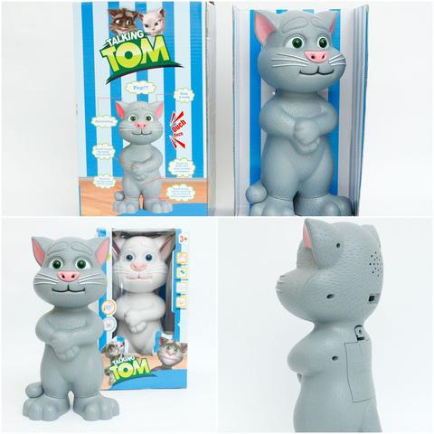 Mèo tom biết nói - đồ chơi thông minh cho bé