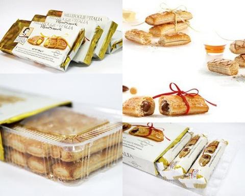 Bánh nướng nghìn lớp Vicenzi nhập khẩu Ý - Ngon miệng và độc đáo - Chỉ 59.000đ/02 gói