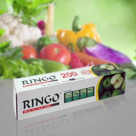 Thức ăn tươi ngon với Màng bọc thực phẩm Ringo 200