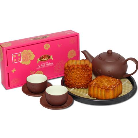 Bánh trung thu Lafeve Bakery hộp 2 bánh