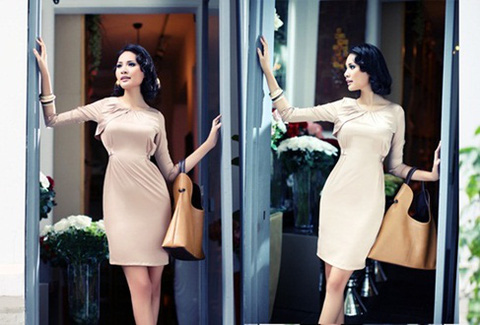 Đầm công sở cao cấp thương hiệu Look&M. Sang trọng, lịch sự, kiểu dáng mới. Chỉ 349.000đ/sản phẩm, không bù thêm tiền