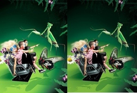 Cặp vé xem phim 5D (5 -12phút) dành cho 2 người tại Trung tâm thương mại Da Nang Square - Chỉ với 45.000đ