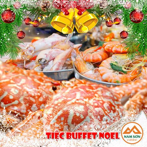 Tết Dương lịch tưng bừng cùng Buffet Nam Sơn