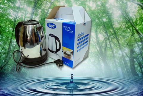 Ấm đun nước siêu tốc Supo, dung tích 1,8L, nhanh chóng, tiện dụng, an toàn. Chỉ 175.000đ/chiếc