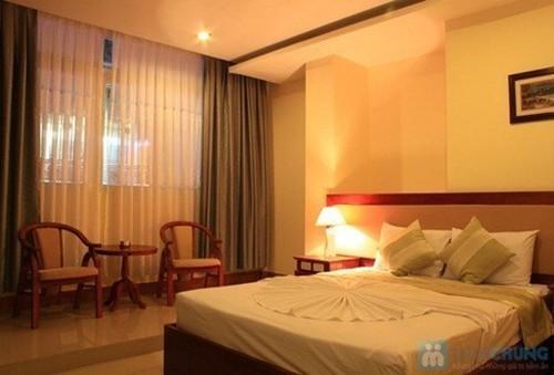 Khách sạn 3 sao Nhật Thành - Nha Trang. Phòng Superior kèm buffet sáng cho 02 người. Chỉ 450.000đ/đêm
