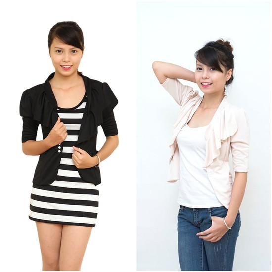 Áo giả vest nữ tay lỡ - Trẻ trung và năng động cho bạn gái - Chỉ 153.000đ/1 chiếc