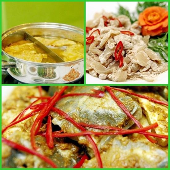 Thưởng thức Lẩu cá Tầm, Sò huyết hấp gừng...cho 04 người tại nhà hàng Táo Quán - Chỉ với 393.000đ