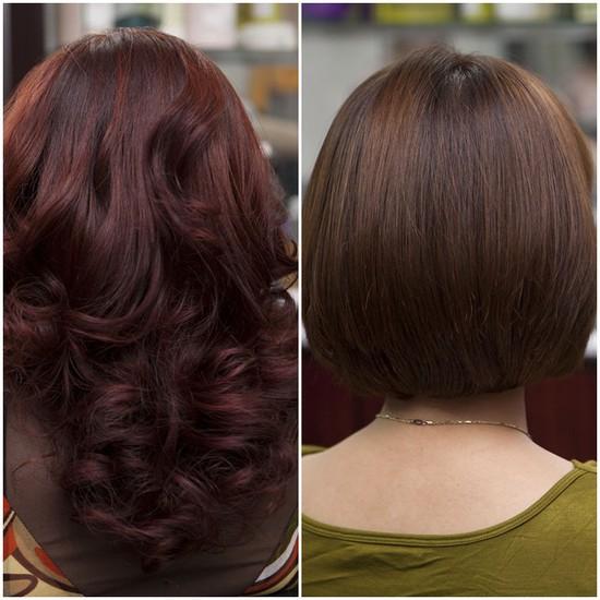Lựa chọn 01 trong 03 dịch vụ làm tóc: Uốn lạnh, Nhuộm, Ép phồng tại Salon tóc Hương Hà - Chỉ với 300.000đ