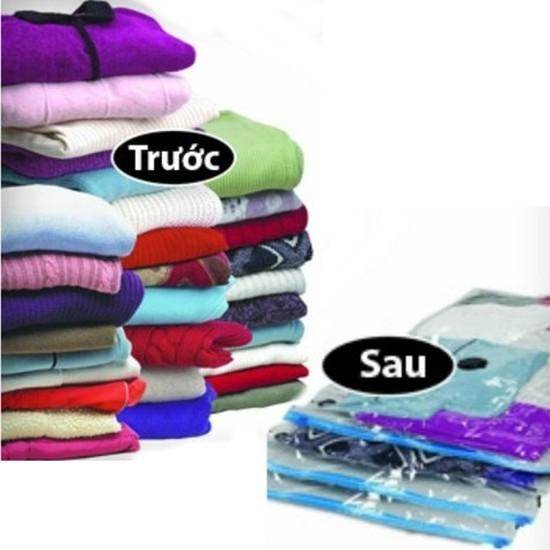 Combo 10 túi hút chân không chất lượng bảo vệ đồ đạc, tiết kiệm 80% không gian gia đình bạn - Chỉ với 249.000đ