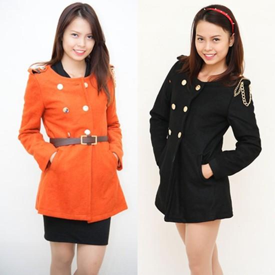 Áo dạ kèm thắt lưng - Sang trọng và lịch sự - Đem lại sự ấm áp cho bạn gái khi đông về