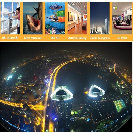Ngắm Thành Phố Hà Nội tại Đài Quan Sát Sky 72 tại Keangnam Landmark 72 Tower. Voucher 240.000đ Chỉ Còn 120.000đ