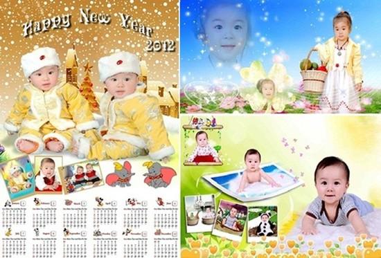 Chụp ảnh và làm Lịch ảnh tại Phú Thành Digital - Ghi lại những khoảnh khắc đáng nhớ, đón năm mới 2012 - Chỉ với 275.000đ