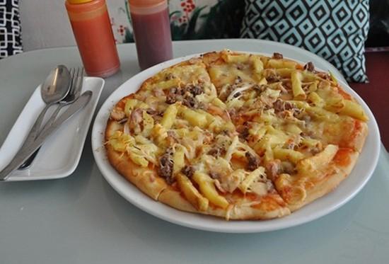 Cơ hội cùng bạn bè ăn xả láng Pizza cỡ lớn size 30 cm tại PIZZA BOX - Ngon mà rẻ, chỉ với 60.000đ
