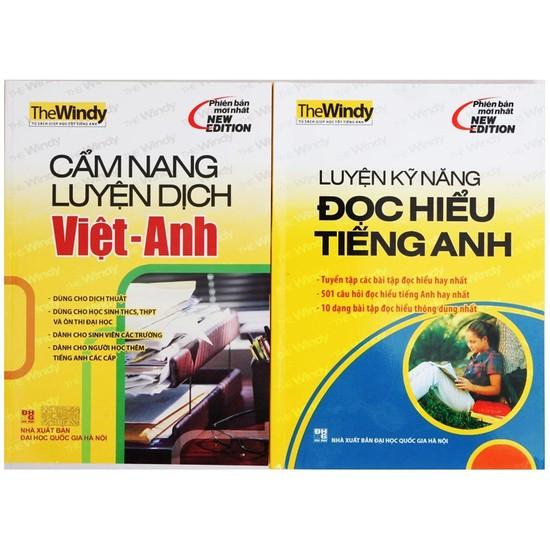 Cẩm nang luyện dịch Việt – Anh + Luyện kỹ năng đọc hiểu tiếng Anh. Chỉ với 73.000đ